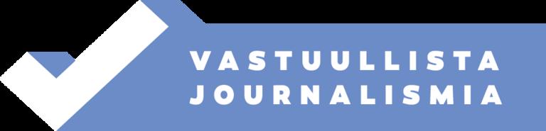 Vastuullisen journalismin merkki kertoo, että sitä käyttävä media on sitoutunut noudattamaan Julkisen sanan neuvoston laatimia Journalistin ohjeita.